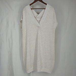 Lou & Grey Sweatshirt Dress Sz Medium